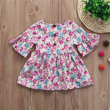 Load image into Gallery viewer, Baby Girl Floral Dress