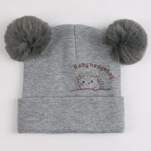 Load image into Gallery viewer, Cute Furry Balls Winter Beanie