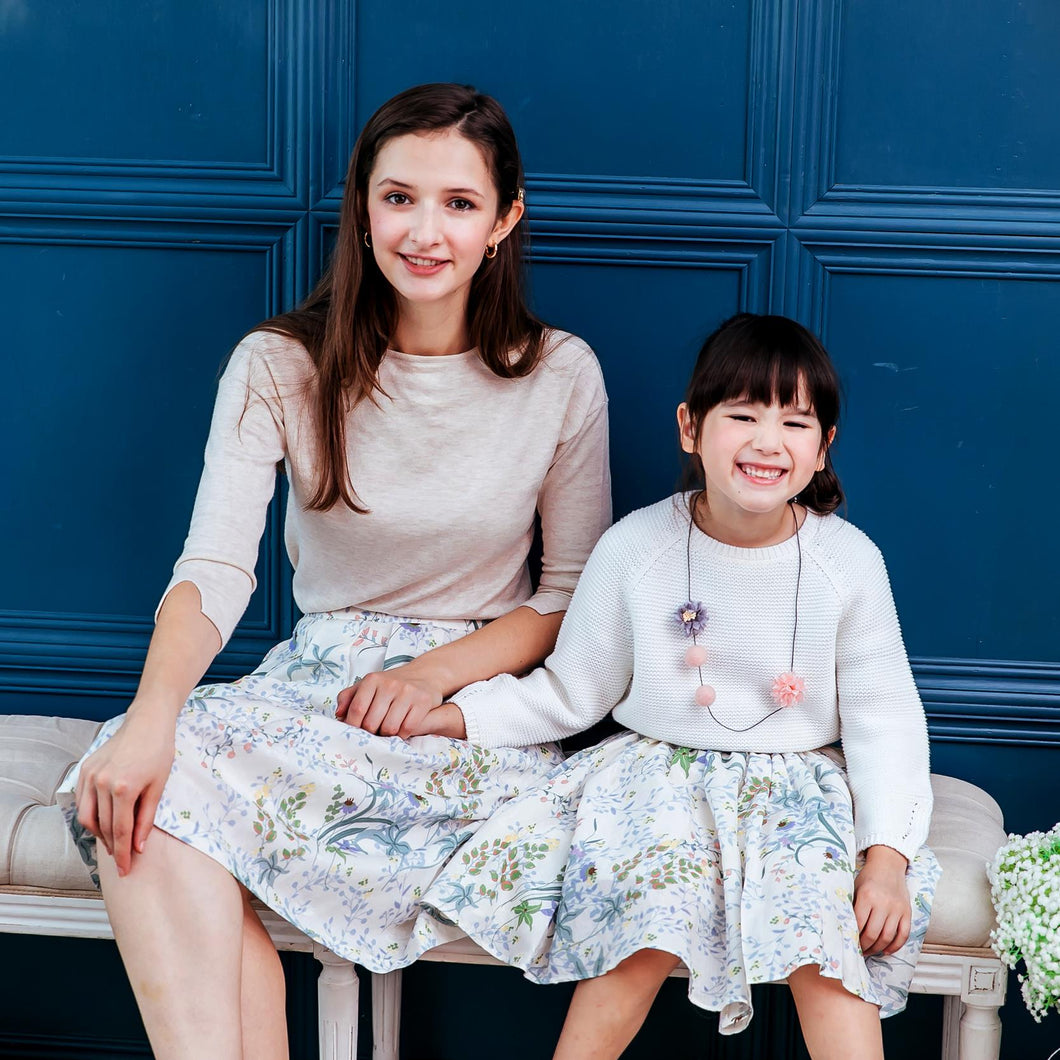 (Set of 2) Mommy & Me floral dress