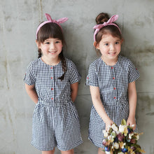 Load image into Gallery viewer, (Set of 2) Gingham Romper
