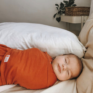 Classic 2-Way Swaddle | Rust