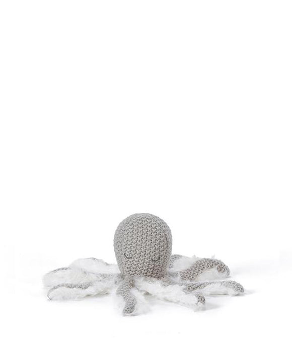 Nana Huchy Ollie Octopus Rattle | Grey