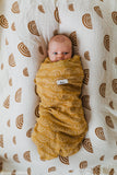 Kiin Organic Cotton & Bamboo Muslin Swaddle | RAINBOW