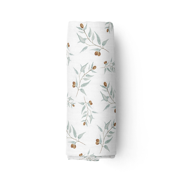 Piper Bug Bamboo Muslin Swaddle | RAY