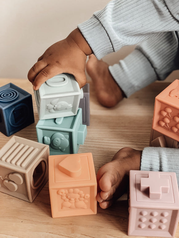 Arabella + Autumn Silicone Building Blocks