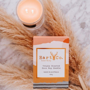 Hart Co Double Wick 400g Candle | Lychee & Guava