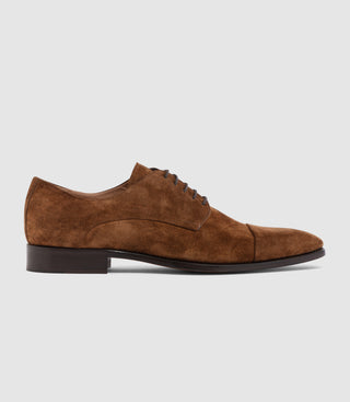 Chaussure coutures camel