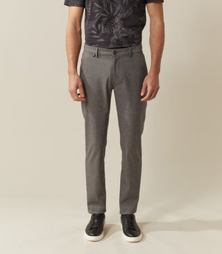 Chino micro structure gris