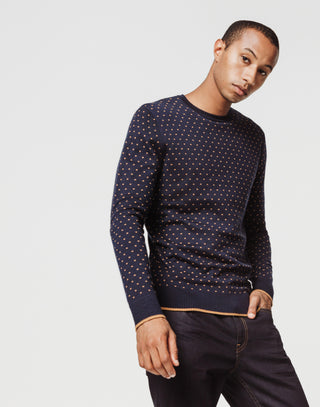 Pull motif all over marine
