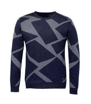 Pull col rond graphique
