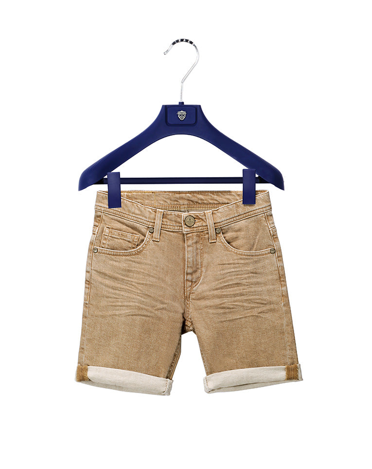 BERMUDA DENIM BEIGE KID