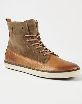 Bottines casual camel