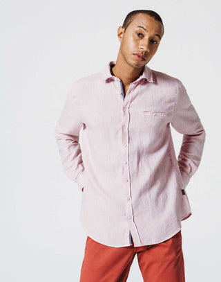 Chemise Lin Lilas