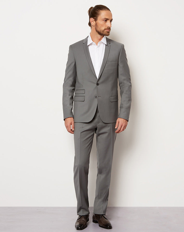 COSTUME HAIZE GRIS CLAIR