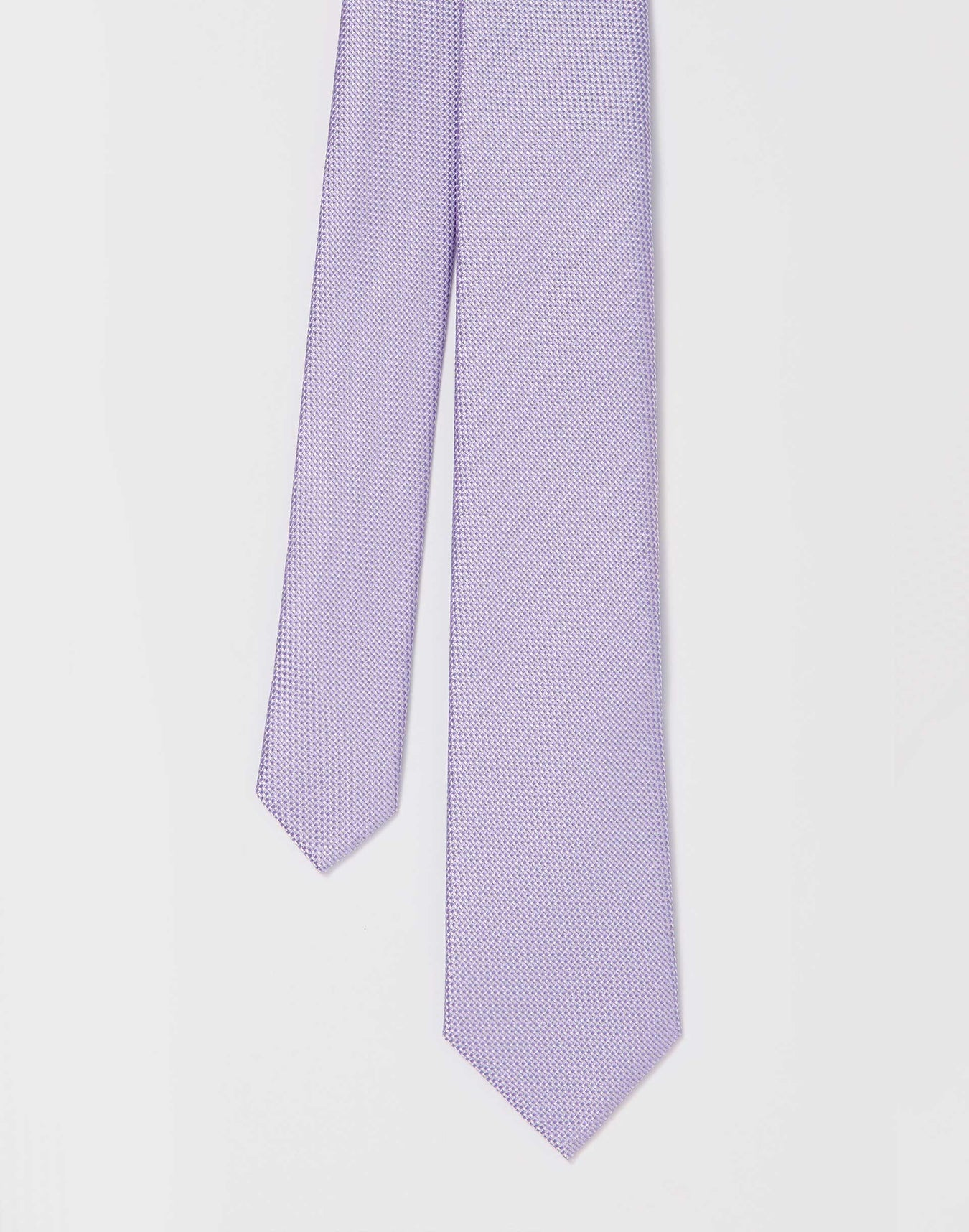 Cravate Super Slim Lilas