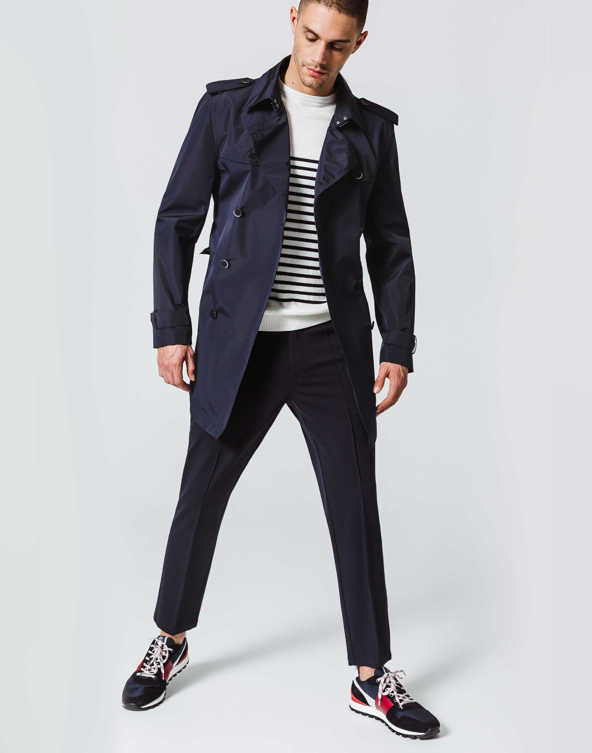 Trench Leger Croise