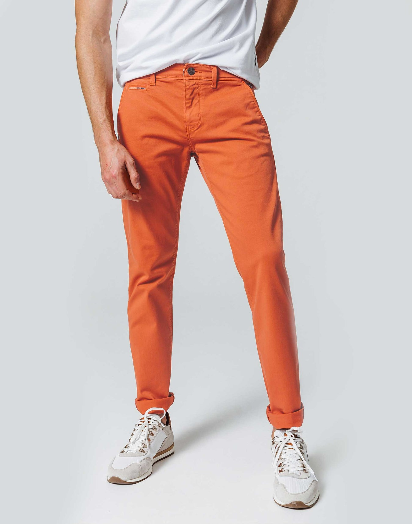 Chino Casual Orange