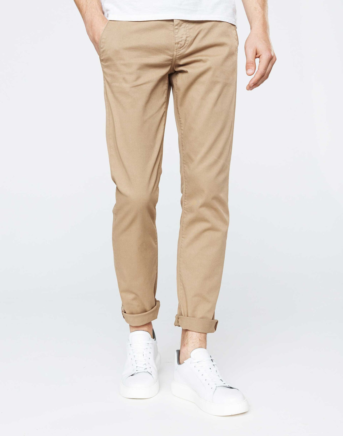 Chino casual beige sable