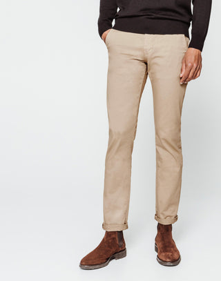 Chino fashion beige clair