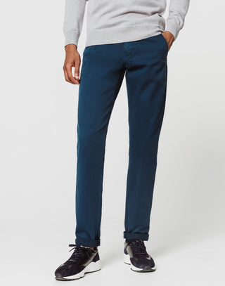 Chino fashion bleu denim