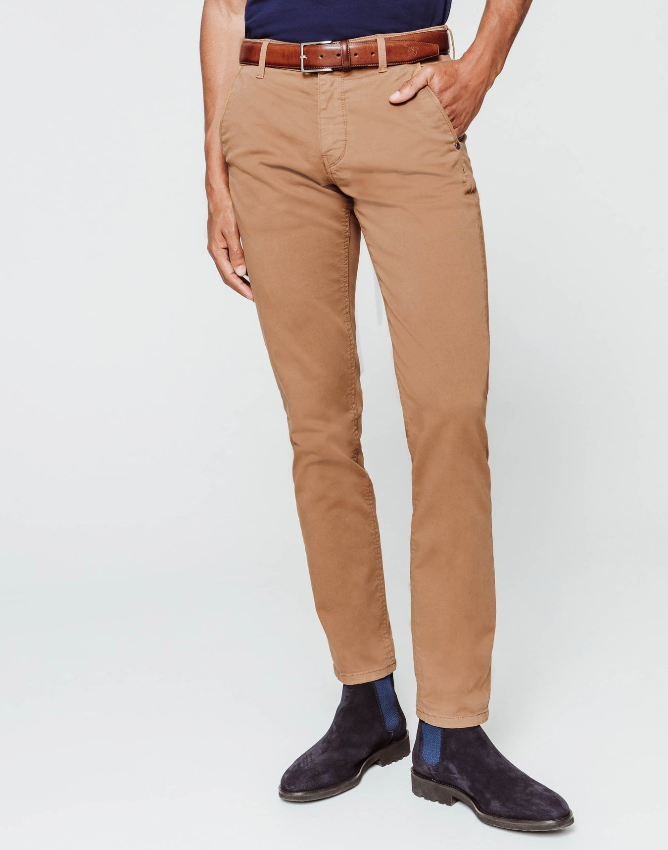Chino fashion camel