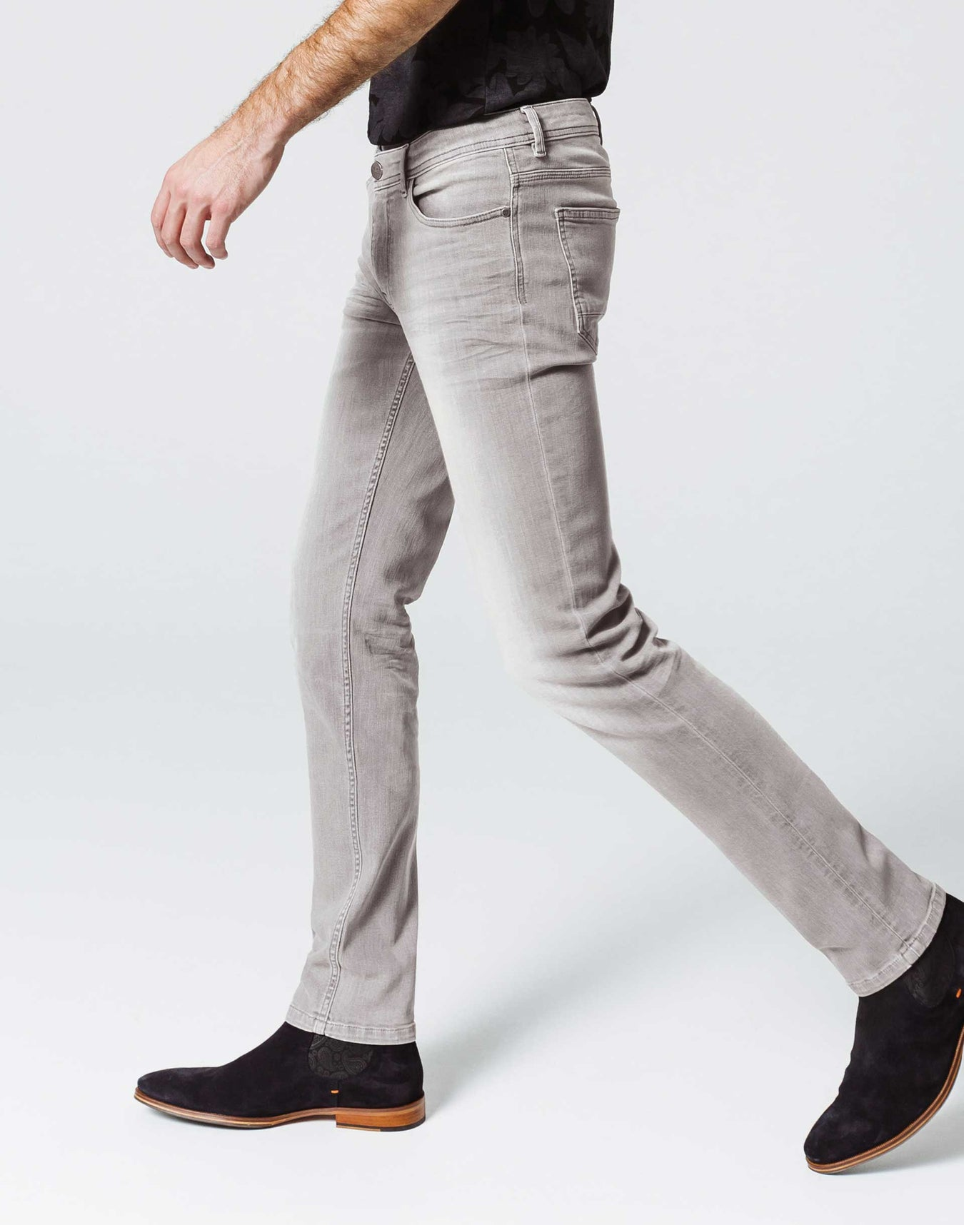 Jean Power Stretch Gris