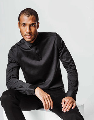 Polo jersey anthracite