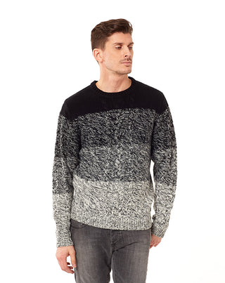Pull col rond bea noir