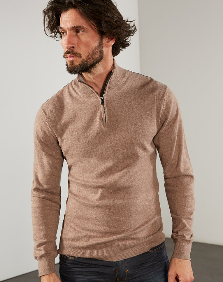 PULL COUDIERES TAUPE