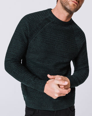 PULL COL ROND VERT