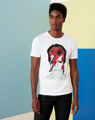 T-shirt col rond DAVID BOWIE