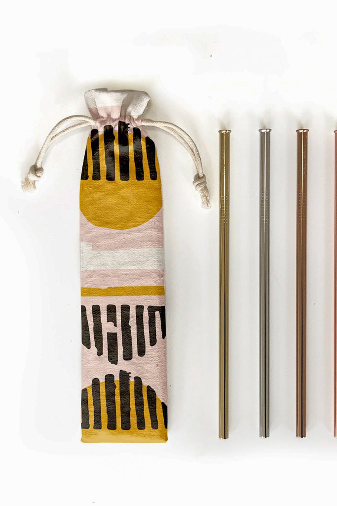 Reusable Metal Straws - Pixelated Boutique