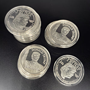 Silver President Trump Collectors Coin