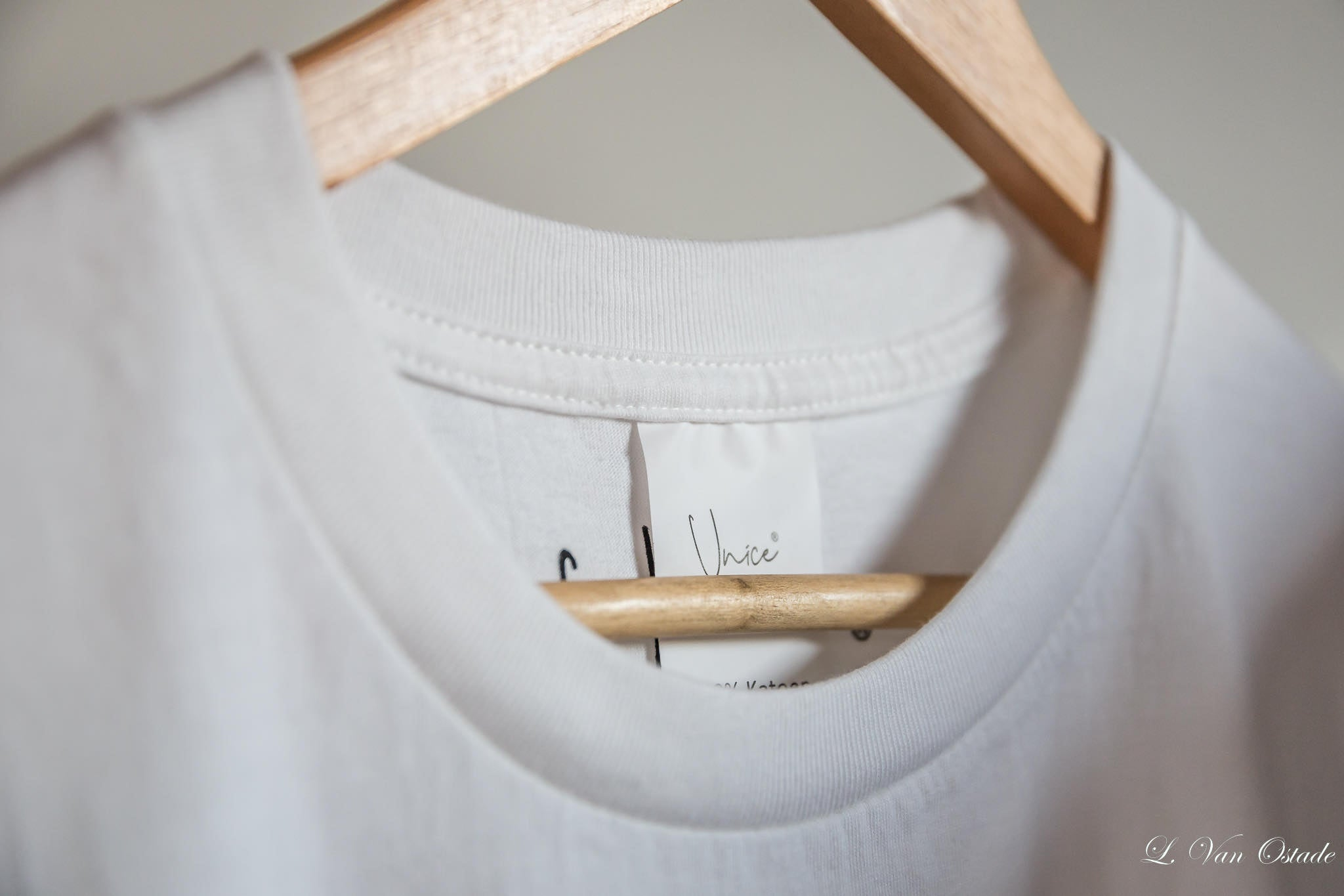 Unice T-shirt on hanger