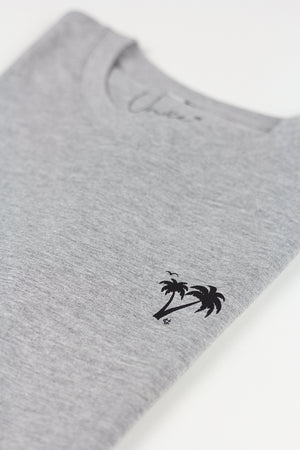 2. Unice T-shirt Palmtree GREY