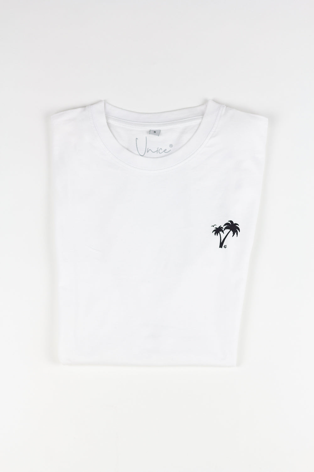 2. Unice T-shirt Palmtree WHITE