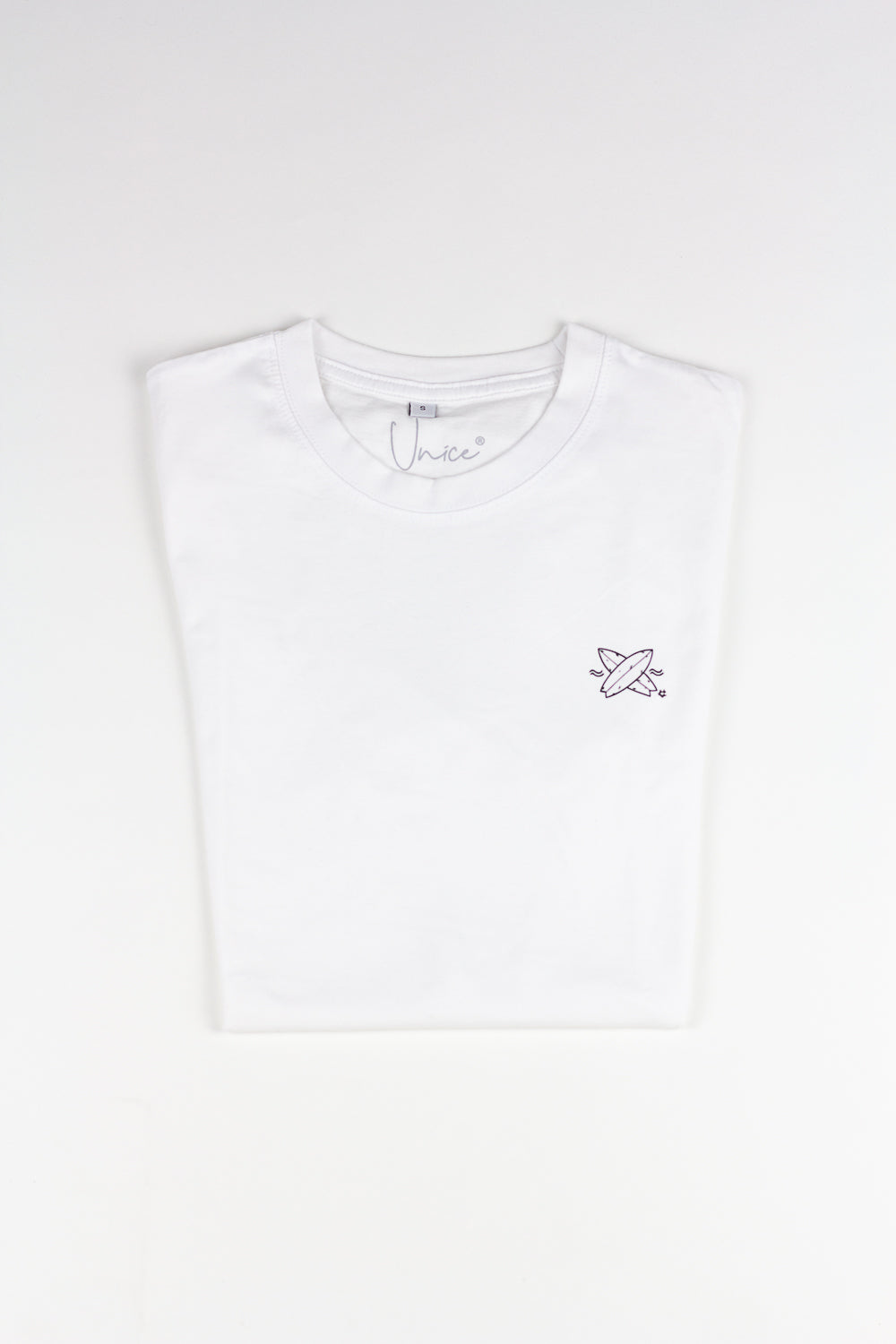 2. Unice T-shirt Surfboards WHITE