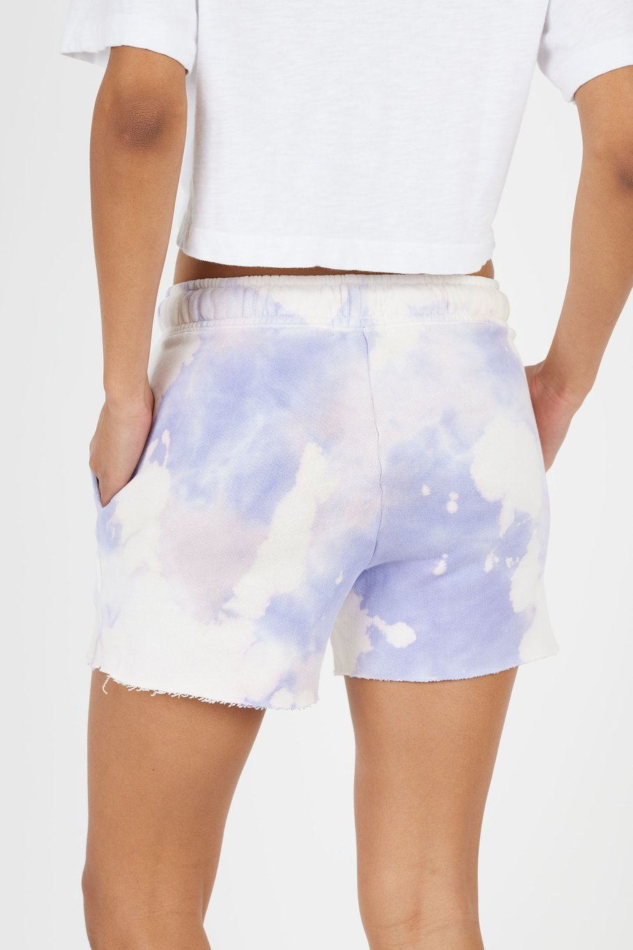 COTTON CITIZEN SHORTS LILAC MIX