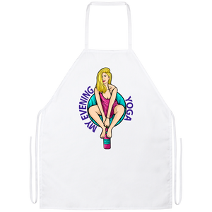 'MY EVENING YOGA' Apron