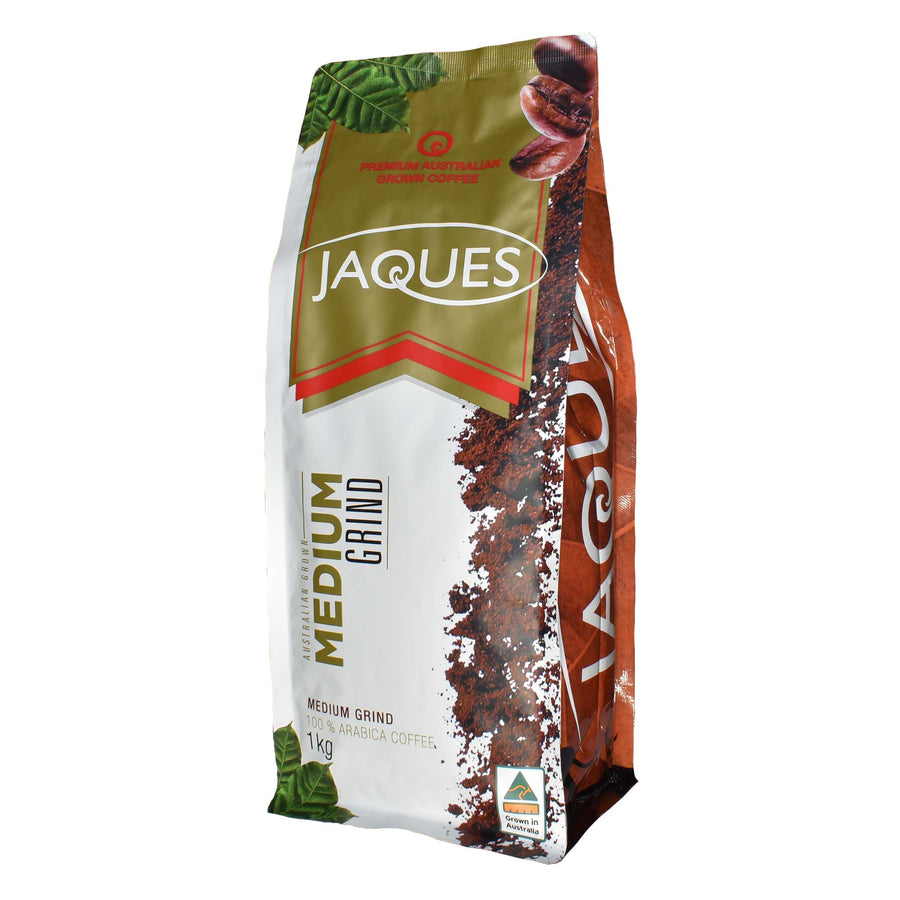 Jaques 1Kg Medium Roast - Medium Grind