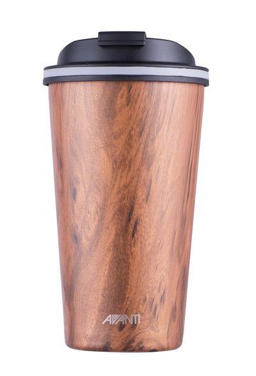 Go Cup Thermos Double Walled Cup 410ml - Driftwood