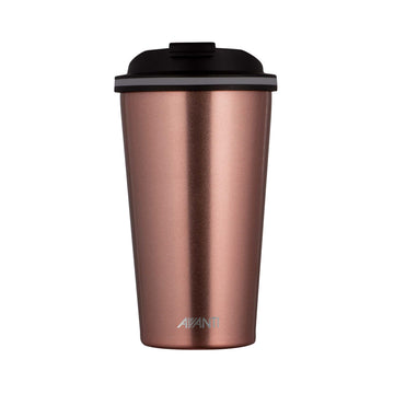 Go Cup Thermos Double Walled Cup 410ml - Rose Gold