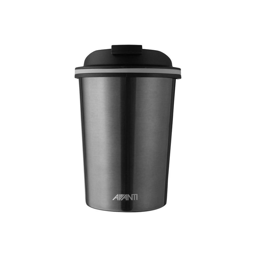 Avanti Go Cup Thermos Double Walled Cup 280ml - Gunmetal