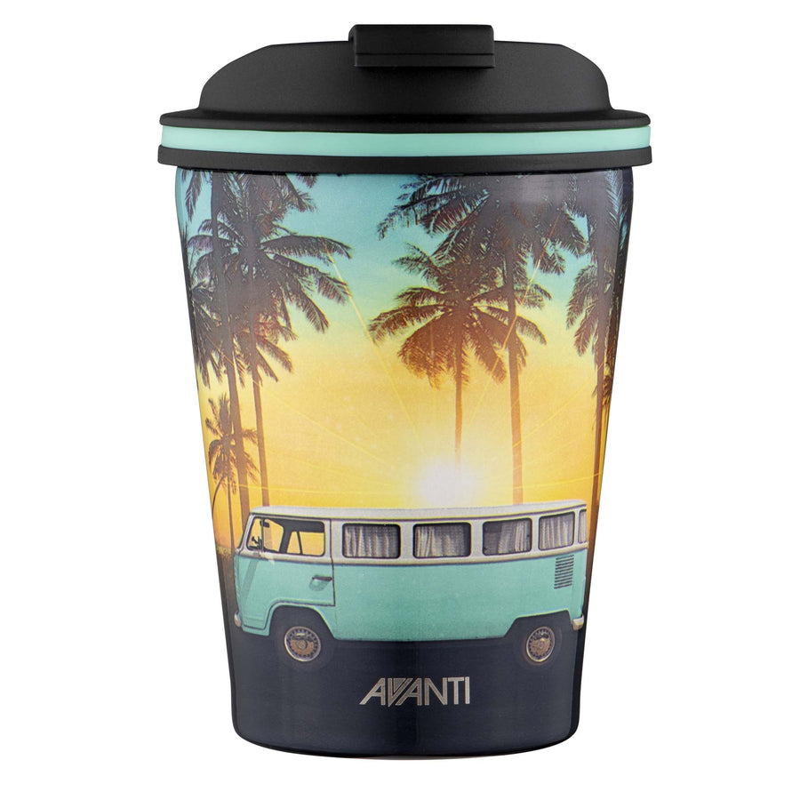 Go Cup Thermos Double Walled Cup 280ml - Summer Combi