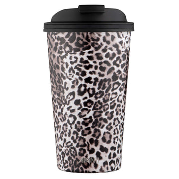 Go Cup Thermos Double Walled Cup 410ml - Leopard