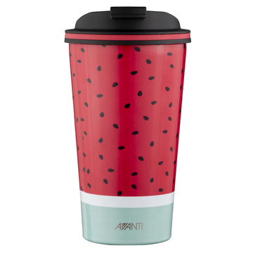 Go Cup Thermos Double Walled Cup 410ml - Water Melon