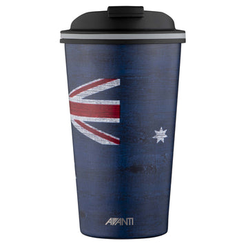 Go Cup Thermos Double Walled Cup 410ml - Aussie Flag