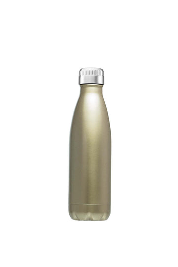Water/Coffee Double Walled Thermos Bottle 750ml - Champagne