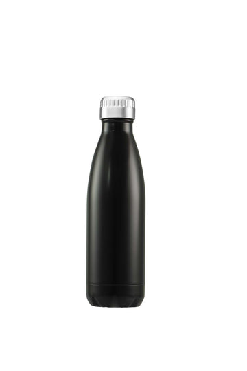 Water/Coffee Double Walled Thermos Bottle 750ml - Matt Black