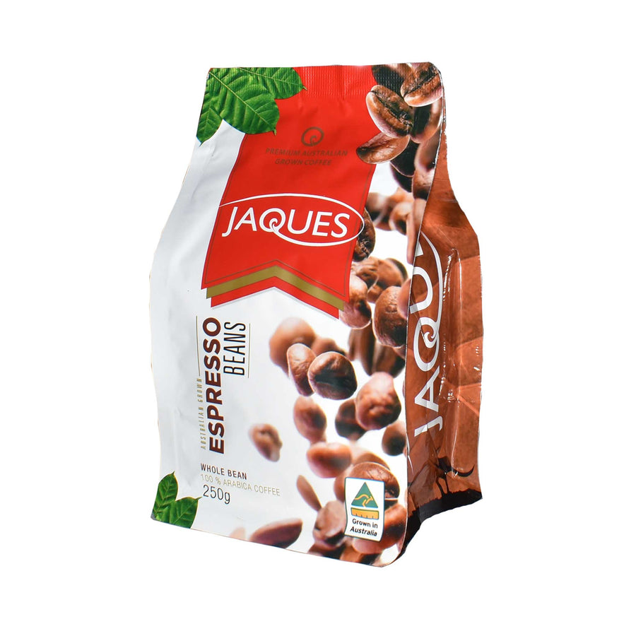 Jaques Espresso Roast - Whole Beans 250g